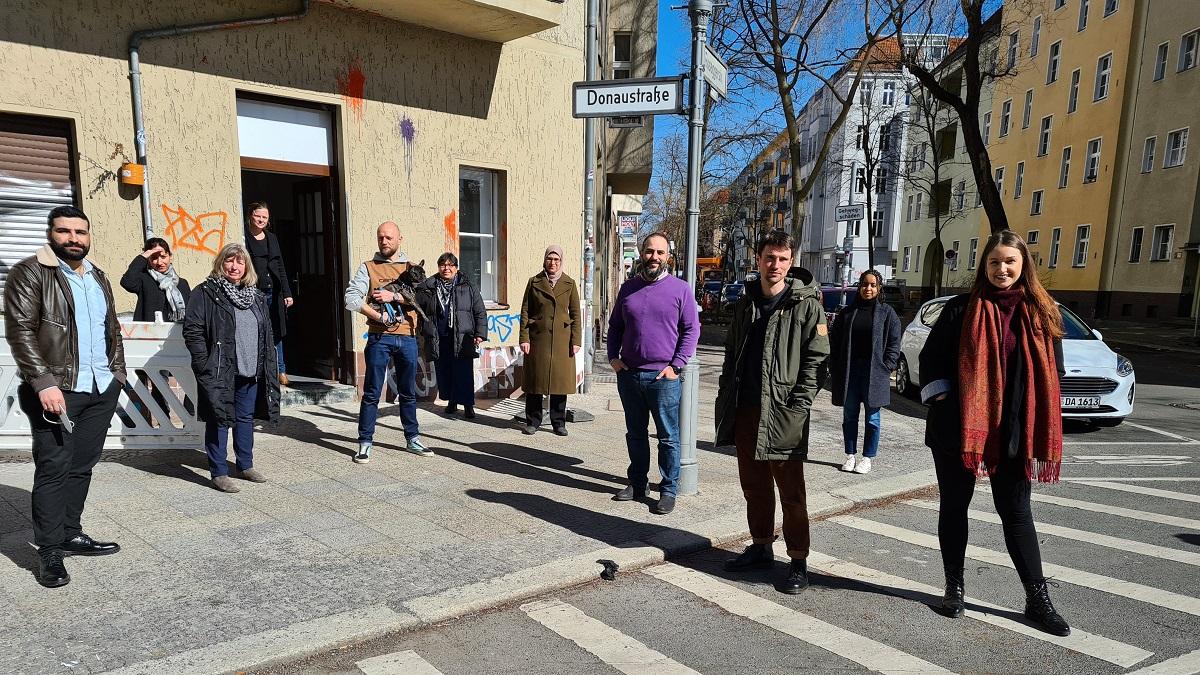 Das Team der Berliner unabhängigen Beschwerdestelle